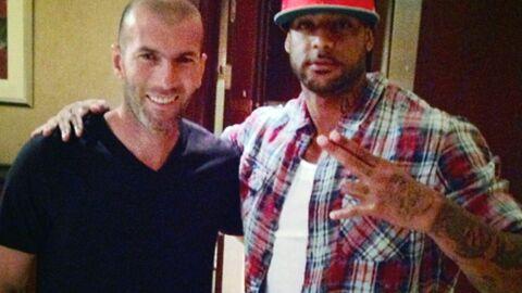 PHOTO Booba s'affiche avec Zinédine Zidane