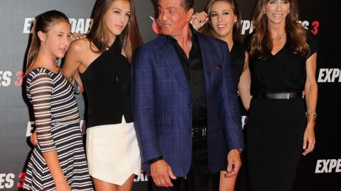 PHOTOS Sylvester Stallone entouré des femmes de sa vie à Paris pour The Expendables 3