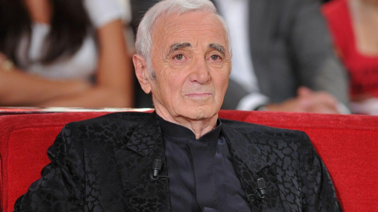 Charles Aznavour ne revient pas au cinéma