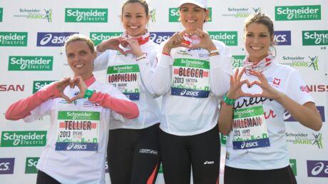 DIAPO Les Miss France cartonnent au Marathon de Paris