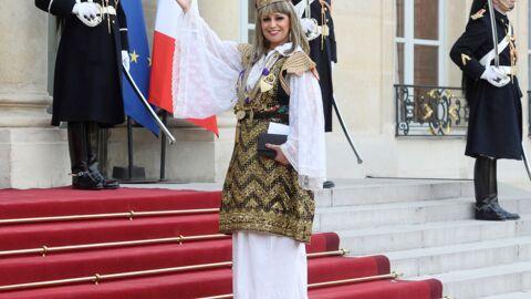 PHOTOS Lââm à l'Élysée en tenue tunisienne traditionnelle