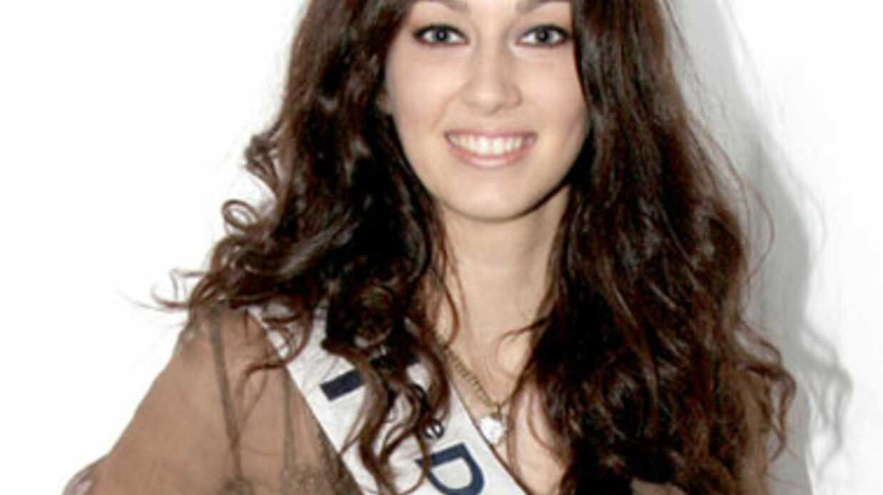 Sophie Vouzelaud, 1e dauphine de Miss France 2007, égérie Afflelou