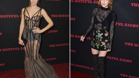 PHOTOS Jenna Dewan-Tatum sublime, Bella Thorne beaucoup moins pour The Hateful Eight