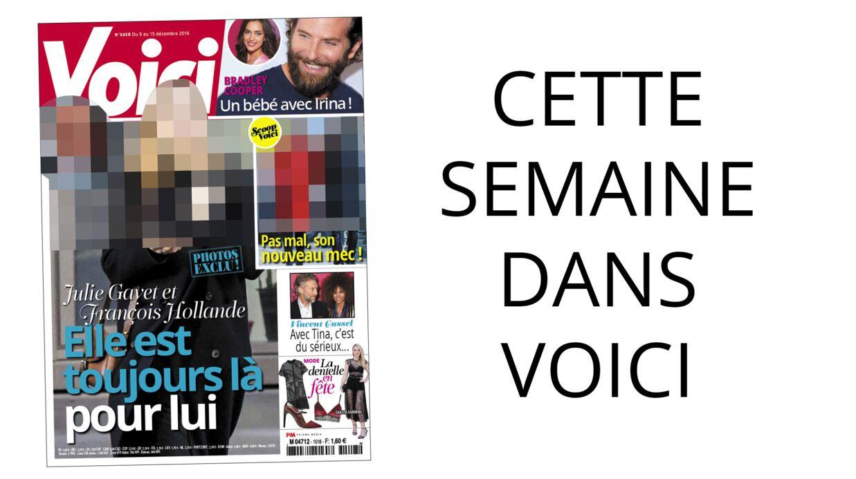Cette semaine dans Voici: Julie Gayet toujours présente pour François Hollande