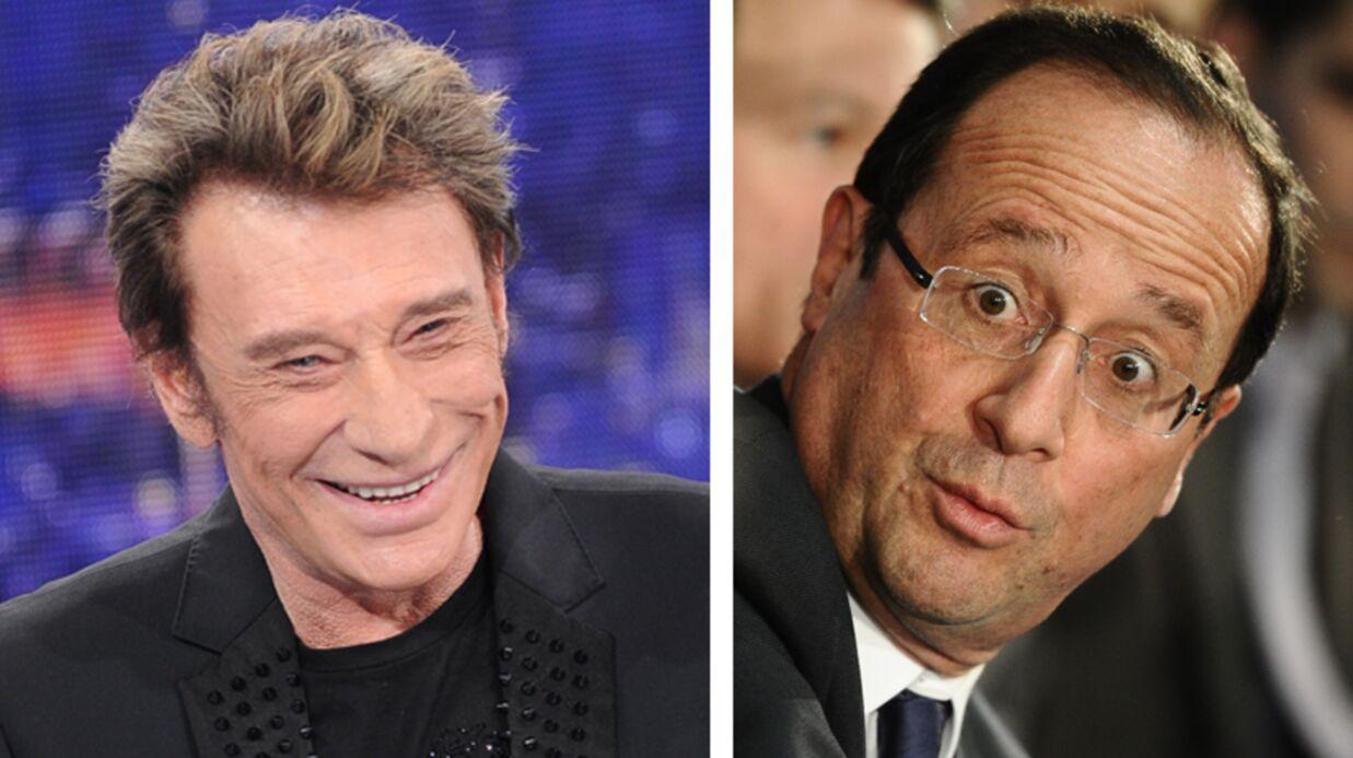 Johnny Hallyday et François Hollande ont dîné ensemble