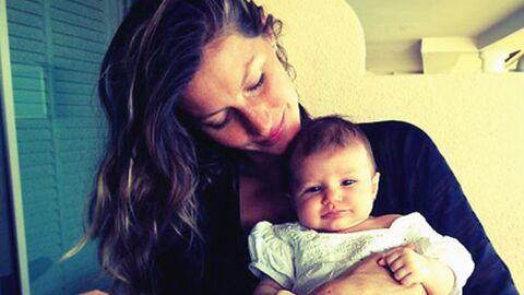 PHOTO Gisele Bündchen publie une photo de sa fille de deux mois