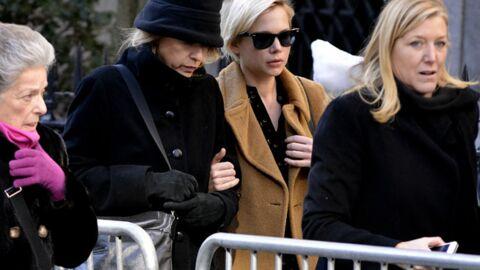 Obsèques de Philip Seymour Hoffman: Michelle Williams et Meryl Streep bouleversées