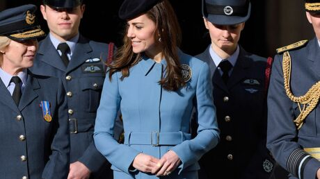Kate Middleton a réussi sa grande première militaire avec le sourire