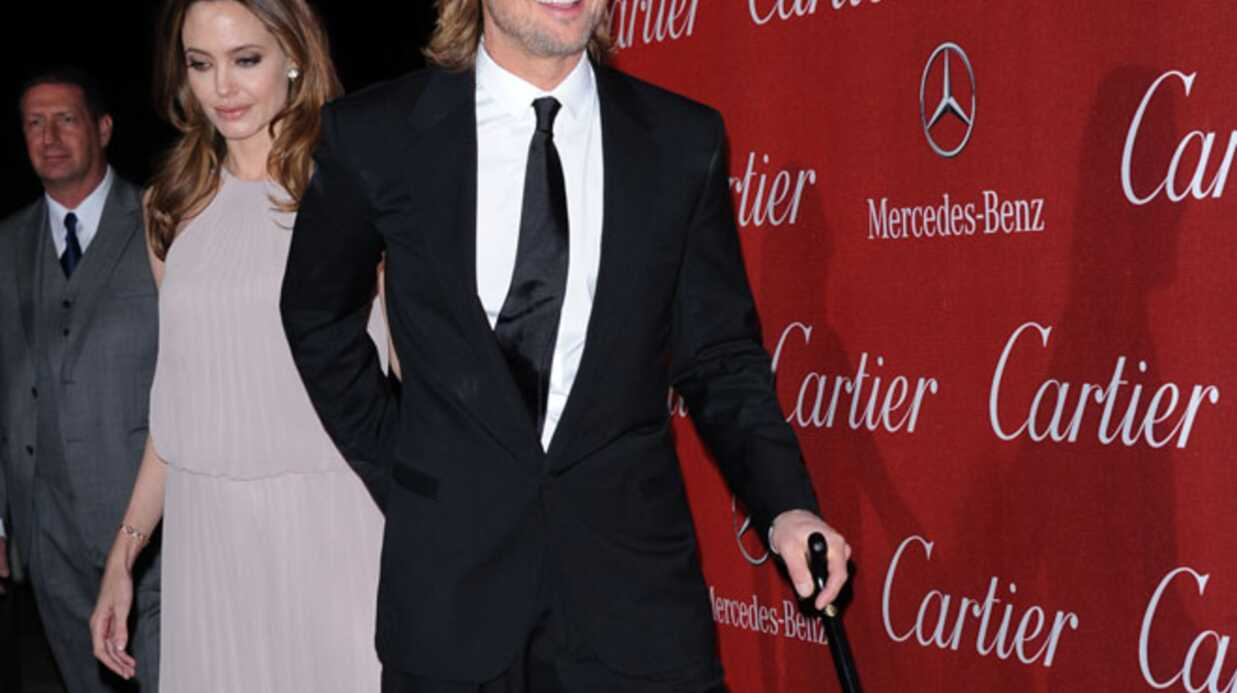 PHOTOS Brad Pitt blessé au festival de Palm Springs