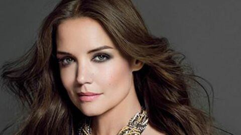 PHOTO Katie Holmes, magnifique égérie d'une marque de cosmétiques