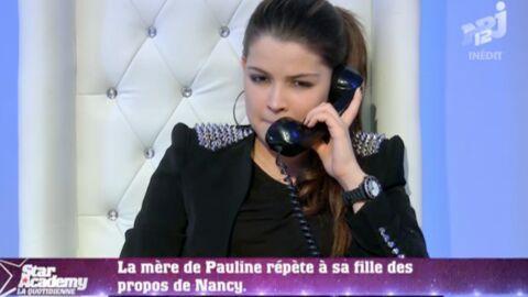 Star Academy: la mère de Pauline s'énerve au téléphone
