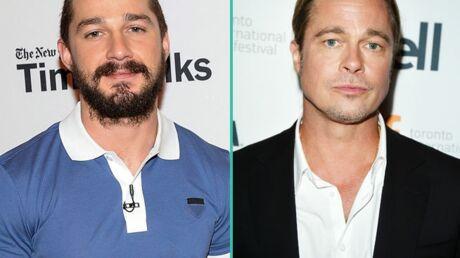 Shia LaBeouf ne se douche plus et irrite l'odorat de son partenaire Brad Pitt
