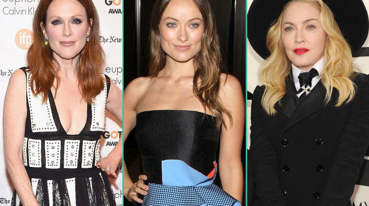 Madonna, Julianne Moore, Olivia Wilde, JK Rowling… Les stars étrangères soutiennent Charlie Hebdo
