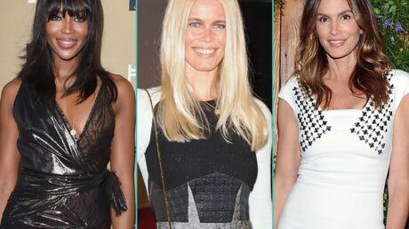 PHOTOS Naomi Campbell, Claudia Schiffer et Cindy Crawford nouvelles égéries ultra sexy de Balmain