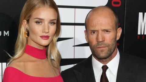 PHOTO Rosie Huntington-Whiteley : la compagne de Jason Statham enceinte de son premier enfant