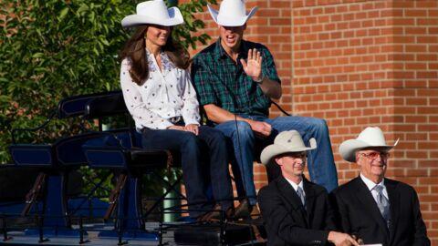 DIAPO Le prince William et Kate en cow-boy et cow-girl