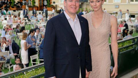 DIAPO Charlène glamour pour un anniversaire spécial avec Albert II