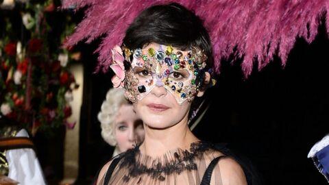 DIAPO Audrey Tautou, invitée mystérieuse d'un bal somptueux