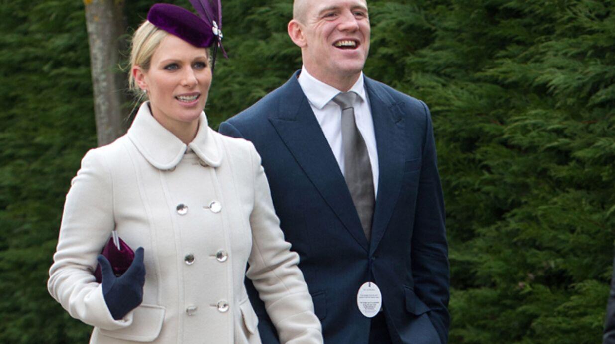 Zara Phillips, la cousine du prince William, est enceinte de Mike Tindall