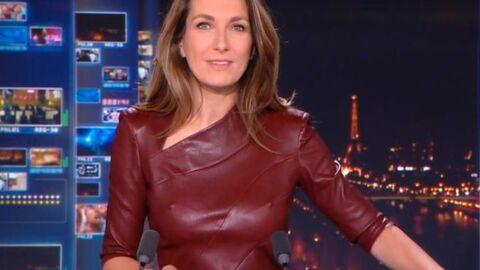 Anne-Claire Coudray: son explication à sa tenue hyper sexy au JT de 20H