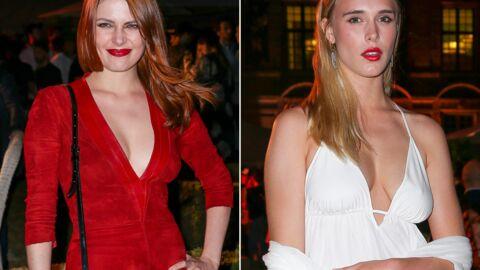 PHOTOS Elodie Frégé sexy, Gaia Weiss très décolletée pour une soirée mode à Paris