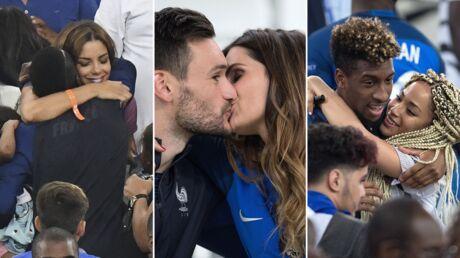 PHOTOS Euro 2016: tendres moments entre les Bleus et leurs compagnes après France-Allemagne