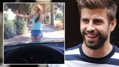 VIDEO Gerard Piqué se moque de Shakira en la filmant en train de galérer pour faire un selfie