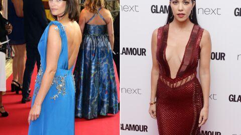 PHOTOS Kourtney Kardashian ultra décolletée, Gemma Arterton sublime aux Glamour Awards