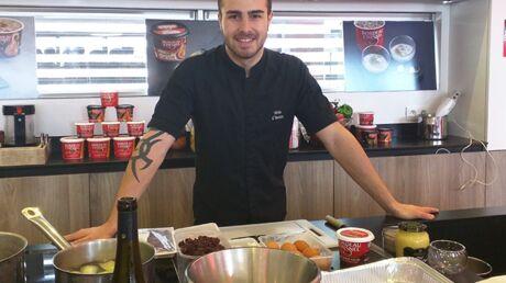 Interview – Kévin D'Andréa: «J'essaie de m'écarter au plus de Top Chef»