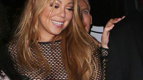 PHOTOS Mariah Carey fait la fête les fesses à l'air à Los Angeles