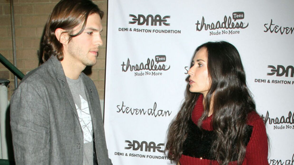Blessée, Demi Moore s'attaque à la fortune d'Ashton Kutcher