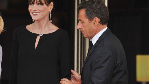 VIDEO Quand Nicolas Sarkozy vole (encore) la vedette à Carla Bruni