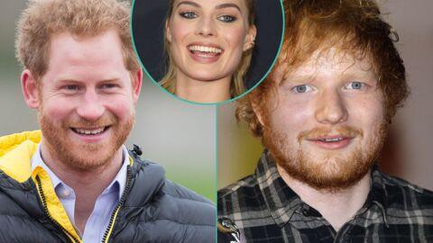 Margot Robbie a passé une soirée à confondre le prince Harry avec Ed Sheeran