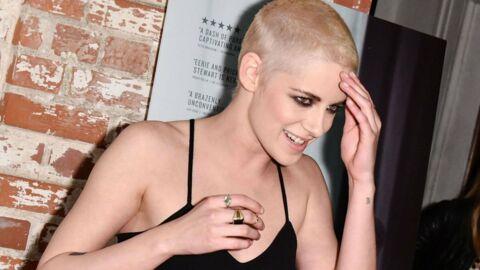 PHOTOS Kristen Stewart: crâne rasé et blond platine, l'actrice fière de son nouveau look