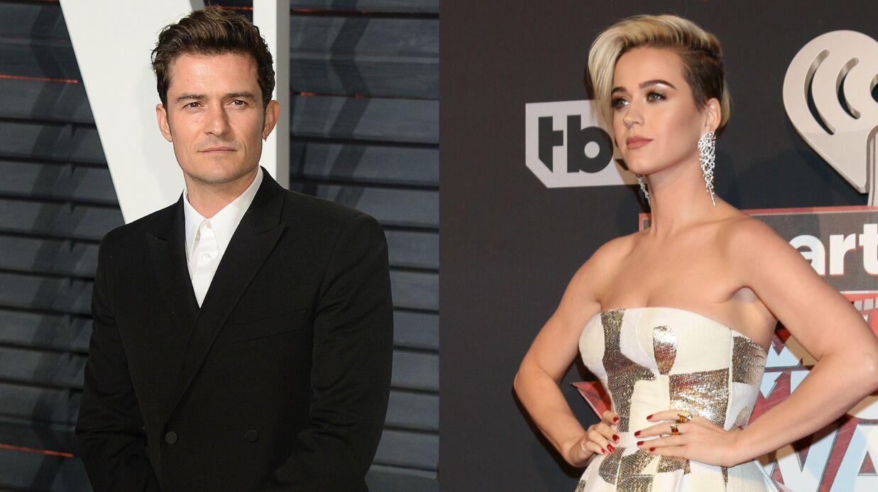 Séparés, Katy Perry et Orlando Bloom s'envoient encore des textos