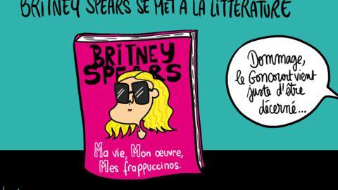 Louison a croqué: Britney Spears devient écrivaine