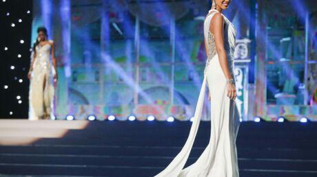 DIAPO Hinarani de Longeaux très sexy pour Miss Univers