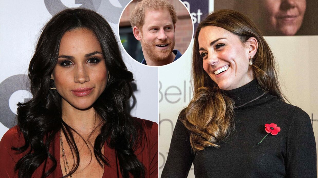 Kate Middleton a hâte de rencontrer Meghan Markle, la nouvelle girlfriend du prince Harry
