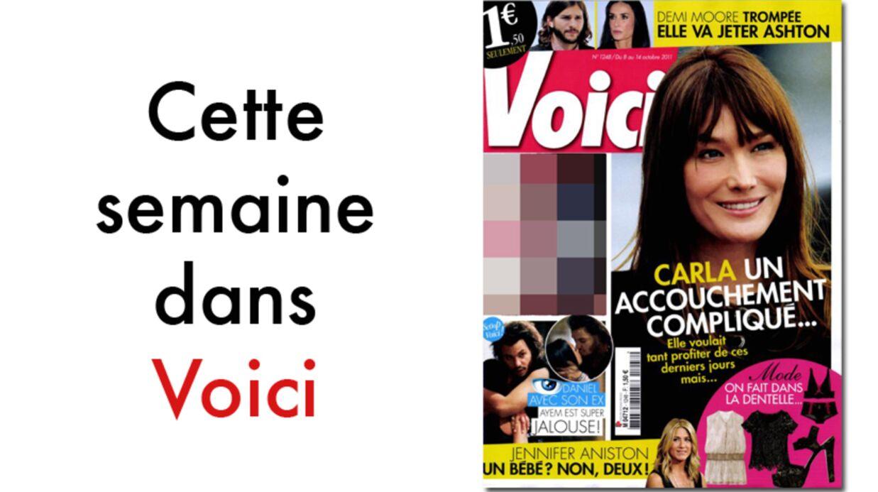 L'accouchement de Carla Bruni, la FIV de Jennifer Aniston