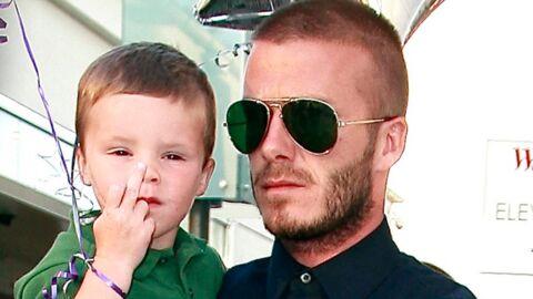 David et Victoria Beckham: leur fils cadet dit des injures en espagnol