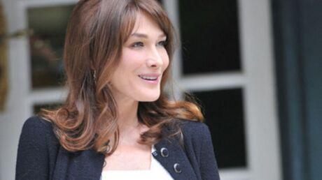 Carla Bruni veut accoucher de manière naturelle