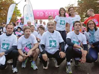 Les people aux 10 ans de la course Odyssea pour la lutte contre le cancer du sein