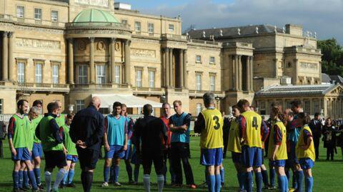 DIAPO William s'éclate au foot… sur les pelouses de Buckingham Palace