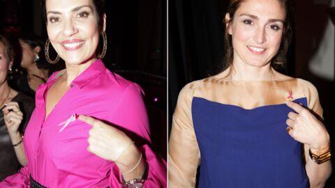 DIAPO Cristina Cordula, Julie Gayet… un parterre de stars contre le cancer du sein