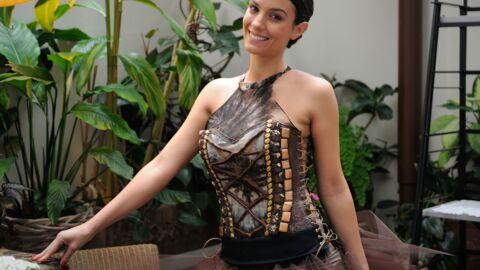 PHOTOS Ludivine Sagna essaye sa robe pour le Salon du chocolat