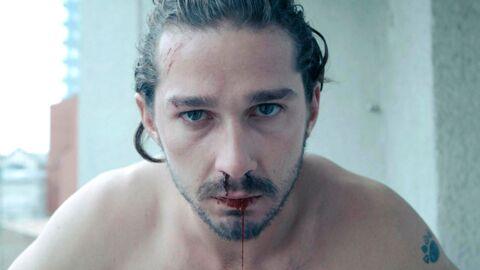 Shia LaBeouf s'est fait arracher une dent et s'est tailladé le visage au couteau pour un film