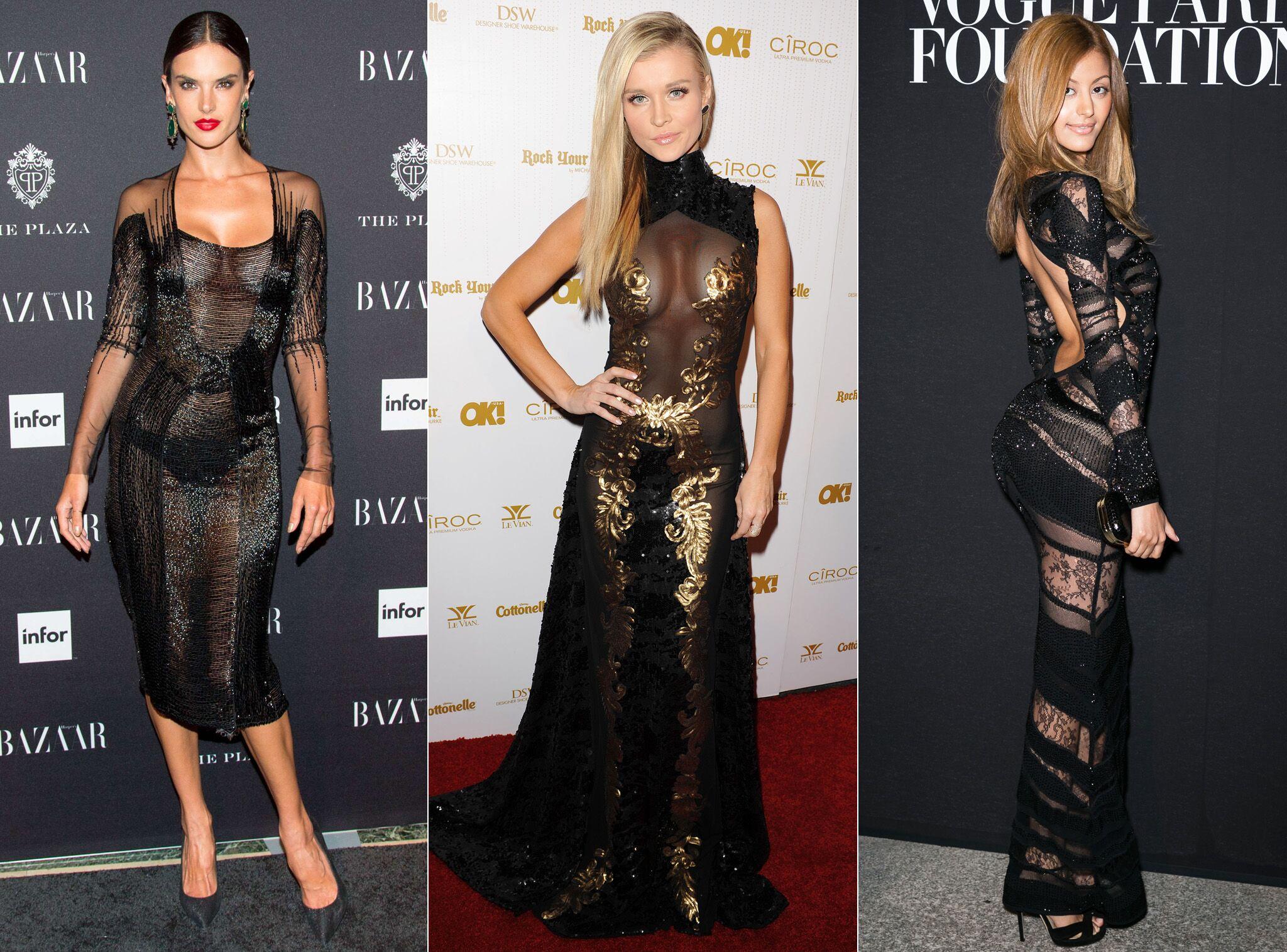 DIAPO Shy m, Zahia, Rihanna   toutes accros à la petite robe noire qui ne  cache rien - Voici 75d7102297e9
