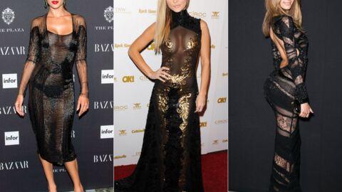 DIAPO Shy'm, Zahia, Rihanna: toutes accros à la petite robe noire qui ne cache rien