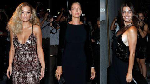 PHOTOS Rita Ora, Uma Thurman, Julia Roitfeld… glamour et décolletées pour Tom Ford