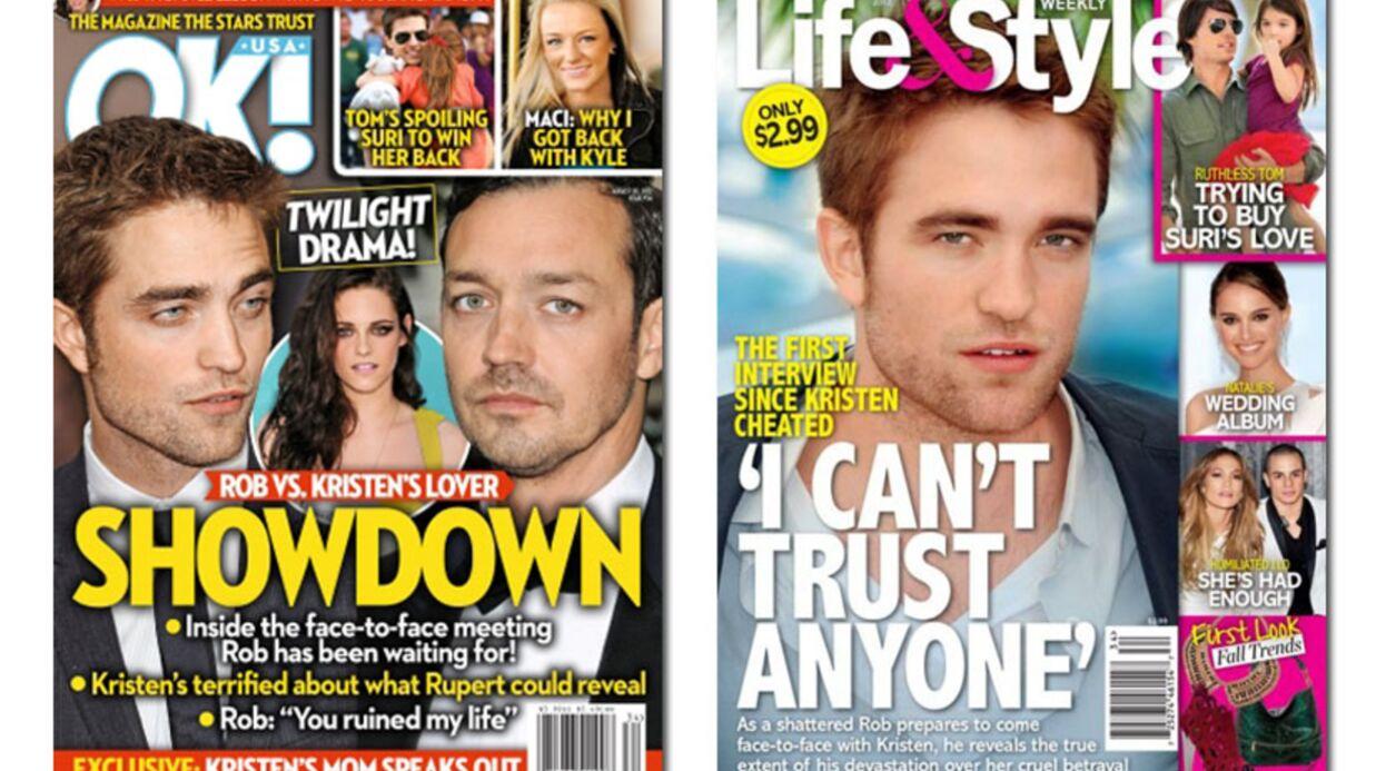 En direct des US: le clash Robert Pattinson-Rupert Sanders